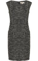Michael by Michael Kors Tweed Dress - Lyst