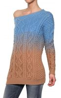 DSquared2 Degradé Wool Knit Sweater - Lyst