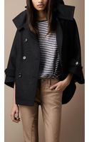 Burberry Brit Wool Blend Coat - Lyst