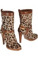 Alberto Guardiani Ankle Boots - Lyst