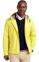 Brooks Brothers Hooded Beach Jacket - Lyst
