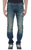 Diesel Denim Trousers - Lyst