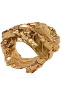 Maison Martin Margiela Plated Copper Bracelet - Lyst