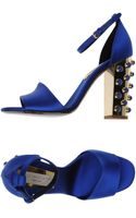 Stella McCartney Highheeled Sandals - Lyst
