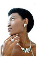 Linda Friedrich Jewelry Statement Silver Ear Studs - Lyst