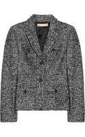 Michael Kors Tweed Jacket - Lyst