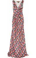 Duro Olowu Printed Silksatin Gown - Lyst