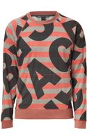 Marc By Marc Jacobs  Multicolor Marc Sweatshirt - Lyst
