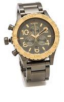 Nixon The Hudson St 4220 Chrono Watch - Lyst