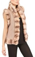 Vicedomini Rex Rabbit and Cashmere Knit Vest - Lyst