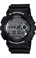 G-shock Digital Black Resin Strap Watch  - Lyst