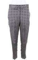Thom Browne Straight Cut Pants in Print Silk - Lyst