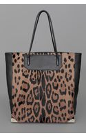 Alexander Wang Prisma Tote Natural Leopard - Lyst