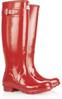 Hunter Original Tall Gloss Wellington Boots - Lyst