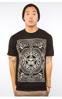 Obey The Spinning Dissent Basic Tee in Black - Lyst