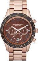 Michael Kors  Oversized Layton Chronograph Watch  - Lyst