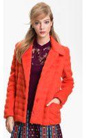 Nanette Lepore Abracadabra Faux Fur Coat - Lyst