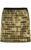 Proenza Schouler Embellished Jersey Mini Skirt - Lyst
