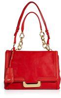 Diane Von Furstenberg Lipstick Red Leather New Harper Shoulder Bag - Lyst