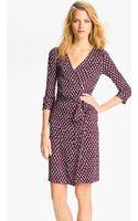 Diane von Furstenberg New Julian 2 Silk Wrap Dress - Lyst