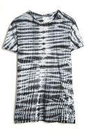 Proenza Schouler Tie Dye Short Sleeve Tshirt - Lyst
