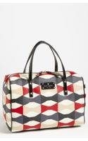 Kate Spade Abstract Signature Bow Shawna Satchel - Lyst