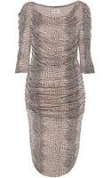 Alice By Temperley Raquel Draped Dress - Lyst