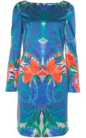 Temperley London Lotus Print Shift Dress - Lyst