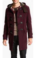 Burberry  Wool Blend Topcoat - Lyst