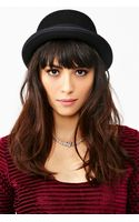 Nasty Gal Wool Bowler Hat - Lyst