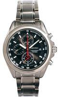 Seiko Titanium Chronograph Watch Sndc93p1 - Lyst