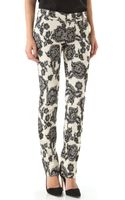 Alice + Olivia Stacey Slim Pants - Lyst