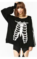 Nasty Gal Death Becomes Her Knit - Lyst