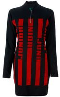 Jean Paul Gaultier Zip Front Dress - Lyst