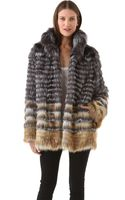 Joy Cioci Cara Fur Coat - Lyst