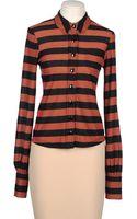 Sonia By Sonia Rykiel Long Sleeve Shirt - Lyst
