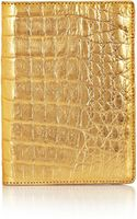 Nancy Gonzalez Metallic Crocodile Passport Cover - Lyst