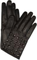 Valentino Rockstud Studded Leather Gloves - Lyst
