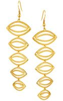 House Of Harlow Evil Eye Dangle Earrings - Lyst