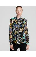 Sachin & Babi Floral Blouse Rimini with Pleated Back - Lyst