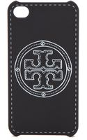 Tory Burch Stacked Logo Iphone Case - Lyst