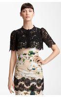 Dolce & Gabbana Lace Bolero - Lyst