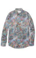 Maison Martin Margiela Dotprint Cotton Shirt - Lyst
