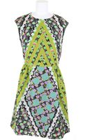 Peter Pilotto Dress in Silk and Polyamide - Lyst