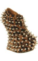 Jeffrey Campbell Shadow Spike Cheetah Sude Silver Stud - Lyst