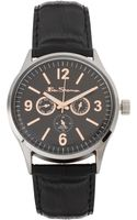 Ben Sherman Watch with Leather Strap - Lyst