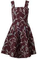 Marni Pineapple Printed Twill Dress - Lyst