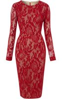 Pied A Terre Lace Shift Dress - Lyst