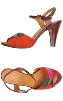 Chie Mihara Highheeled Sandals - Lyst