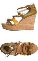 MICHAEL Michael Kors Wedge Sandals - Lyst